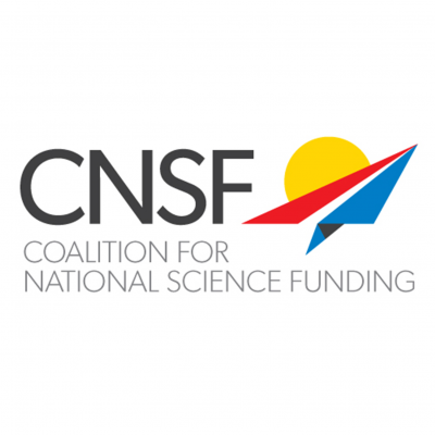 Coalition for National Science Funding (CNSF) logo