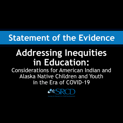Addressing Inequities in Education: Considerations for American Indian and Alaska Native Children and Youth in the Era of COVID-19 logo