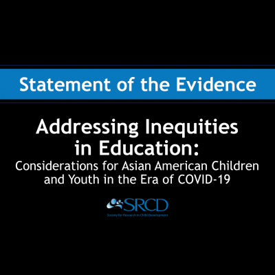 Addressing Inequities in Education: Considerations for Asian American Children and Youth in the Era of COVID-19 logo