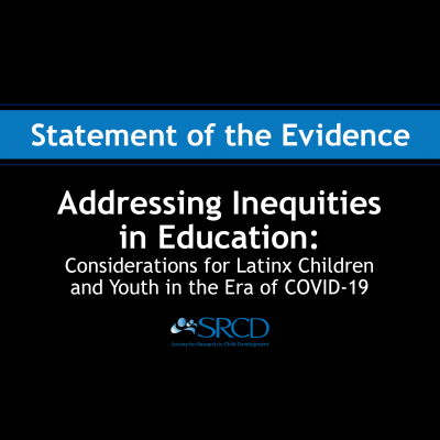 Addressing Inequities in Education: Considerations for Latinx Children and Youth in the Era of COVID-19 logo
