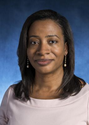 Headshot of Dr. Aisha Dickerson, Assistant Professor of Epidemiology at the Johns Hopkins Bloomberg School of Public Health