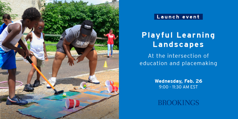 Brookings Institution Playful Learning Landscape promotional image