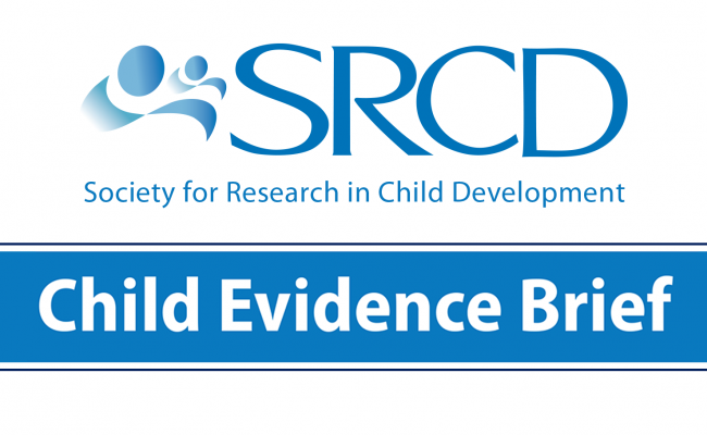 SRCD Child Evidence Brief logo